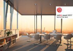 Det dolt integrerade fönsterbandet FWS 60 CV HD med TipTronic imponerade så stort på Reddot juryn att det utmärktes med det högsta priset Red Dot: Best of the Best 2017. Fönsterband med slanka karmar som möjliggör maximala glasytor samtidigt som det har bästa ljud- och värmeisolering. Nu kan du äntligen dolt integrera öppningsbara fönster i fasaden.