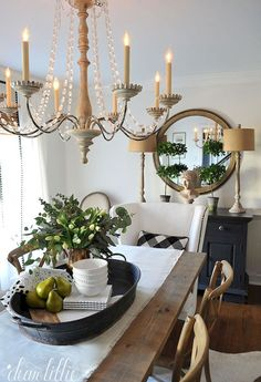 French Country Dining Rooms Decoration Ideas (96