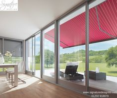 Signature Design lead the way in innovative lifestyle products ranging from energy efficient windows and window walls to glass rooms, verandas and Energy Efficient Windows, Glass Room, Folding Doors, Window Wall, Signature Design, Relax, House, Furniture, Home Decor