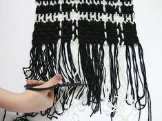 plaid scarf step three 2
