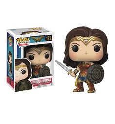 The Wonder Woman Movie Funko Pop Vinyl Figure is a sweet way to allow Gal Gadot from the DC Comics movie to hang out with you. Stop on in and take a look!