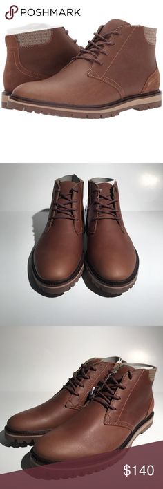 00072ef0c42271 Lacoste Men s Montbard Chukka Boots Leather Brown