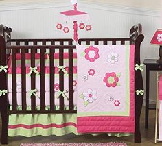 Nursery Bedding Sets Brilliant Nursery Girls Sugar Plum Cocalo Crib Set Purple Butterflies Pink Flowers Diaper