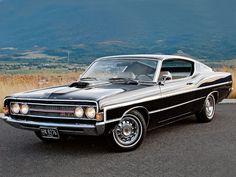 Ford Torino | Ford Torino 1969 e suas linhas aerodinamicamente privilegiadas.