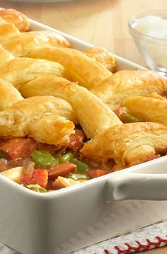 Shrimp and Andouille Pot Pies | Pot Pies!! | Pinterest | Pot Pies ...