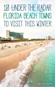 By Terry Ward Heres the thing about Florida You visit time and again and youre quite sure you know the state and its glorious sandy stretches pretty wel. Visit Florida, Florida Living, Florida Vacation, Florida Travel, Vacation Places, Florida Beaches, Vacation Destinations, Vacation Spots, Travel Usa