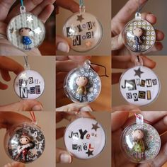 """floats right here … Christmas balls GdB – on sale at """"Une Autre Ligne & Co"""" I shall be on the retailer """"Une Autre Ligne & … Christmas Scents, Diy Christmas Gifts For Family, Diy Christmas Ornaments, Christmas Balls, Christmas Art, Christmas Decorations, Christmas Drinks, Diy Cadeau Noel, Xmas Baubles"""