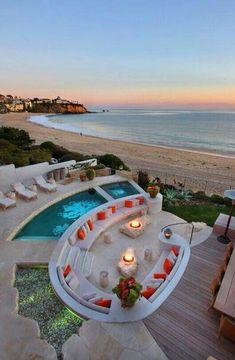 Beach lounge!