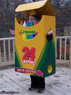 33 Super Easy Cardboard Box Halloween Costumes For Lazy People