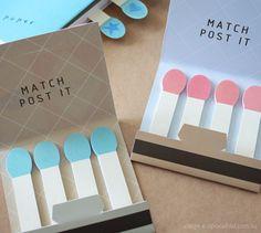 Matchbook Post-Its