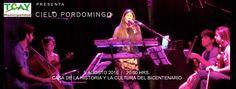 Cielo Pordomingo en Concierto - #CasaBicentenario #Toay #LaPampa #Argentina #CieloPordomingo