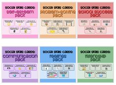 This comprehensive package includes all 180 cue cards for 30 different social skills.    Each skill is broken down into the mental and physical skills needed to carry out the task successfully, so that they can be taught individually. Cards include visuals for students that cannot read. A few cards are left blank to be customized if needed.    Great for students with Autism or other social deficits!