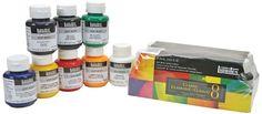Acrylic Paint, Liquitex, Art, Craft, Colour, Soft Body, 8-Piece Bottle Set $56AUD plus $30AUD postage