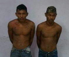 Força Tática/infratores/Manaus Agentes da Força Tática durante patrulhamento na Invasão Lagoa Azul, proximidades do conjunto habitacional Viver Melhor, zona norte, na madrugada desta quinta-feira, (16), receberam denúncias de populares, via linha direta, dando conta que dois indivíduos estavam comercializando drogas, portando armas de fogo e intimidando transeuntes. Os policiais fizeram incursão na área e abordaram os suspeitos identificados como Wilas Leonel Tavares, (19), e Adriano Vieira…