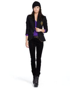 Custom-Fit Fleece Blazer - Polo Ralph Lauren Jackets & Vests - RalphLauren.com