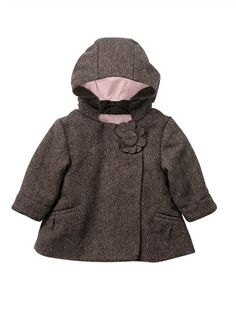 00d9e56c3 Baby Girl s Sequined Wool Mix Coat (Standard Warmth) TWEED WITH  RHINESTONES. Moda Para NiñasModa NiñosBrillanteAbrigosChicas ...