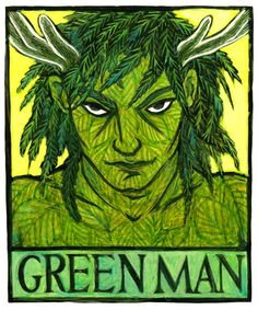 The Green Man, by Thalia Took God of Thriving Plant Life--green man jack in the green beltaine may queen foliage leaves plant god fertility god celtic gods. Celtic Druids, The Ancient One, Celtic Mythology, Beltane, Green Man, Gods And Goddesses, Archetypes, Mythical Creatures, Deities