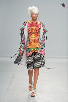 Manish Arora never fails to wow with his rich and colorful designs