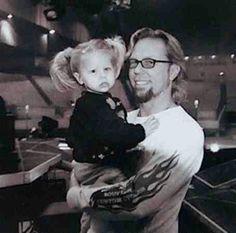 His daughter Marcella Franchesica Hetfield