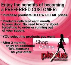 Why pay retail? Contact me for more information or order at http://DrinkPinkSTL.com