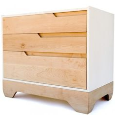 """Echo Dresser design: Kalon Studios manufacture: Fabricated and finished by hand in Gardner, MA. Formerly known as """"the Chair Capital of the World"""", Gardner is a small community of highly skilled woodworkers. While the community used to support 5,000 craftspeople; it now employs fewer than 350. By locating its operations in Gardner, Kalon Studios is working to revitalize this community. materials: FSC-certified domestic solid maple and zero-formaldehyde birch panels. Finished with…"""