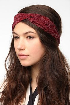 Love this lace headwrap :: urban outfitters