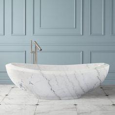 Polished Marble Tub