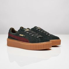 puma creeper kaki