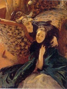 Violet Sargent (1870-1955) and Flora Priestley 1889