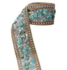 Fashion Design DIY Costume Rhinestone Applique Wedding Bridal Chain, 3.5*50cm *** Click image to review more details.