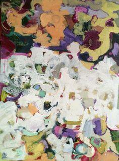 "NEW: Maltese Morning 40"" x 30"" acrylics"