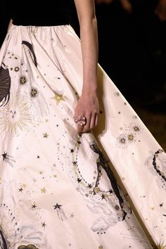Details from Christian Dior Haute Couture Spring and Summer 2017.