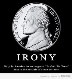 """In God We Trust???   Jefferson rejected the the horrific Christian idolatry.    ""The Christian god is a being of terrific character - cruel, vindictive, capricious, and unjust.""  Thomas Jefferson . . Jefferson's Declaration of Independence: Origins, Philosophy and"""