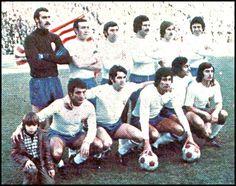 EQUIPOS DE FÚTBOL: REAL ZARAGOZA contra Atlético de Madrid 18/01/1976