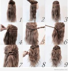 Best easy dialy hairstyle