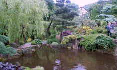 Zwiedzanie ogrodu japońskiego w Jurkowie koło Kudowy Zdroju;
