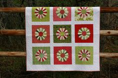 Christmas Dresden quilt