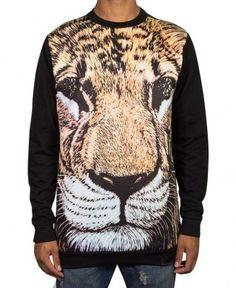 Diamond Supply Co. - Fillmore Lion Crewneck Sweater - $72