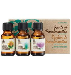 Scents of Transformation Aromatherapy Set from Arbonne ~ I LOVE essential oils and so excited these are apart of Arbonne's Holiday line!