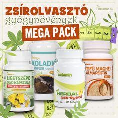 6 ital, ami hatékonyan segíti a zsírégetést is - Netamin Webshop Mega Pack, Nutella, Coconut Oil, Herbalism, Vegan, Desserts, Food, Herbal Medicine, Tailgate Desserts