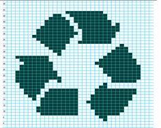 Ravelry: Recycle Chart pattern by Elizabeth Thomas