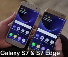 Samsung Galaxy S7 and S7 Galaxy Edge Officially Released - Samsung formally introduced the two latest flagship smartphone Samsung Galaxy S7 and Samsung Galaxy S7 Edge. After a long awaited two latest flagship smartphone Galaxy S series launched in Barcelona, Spain. Edge and Galaxy Galaxy S7 S7 comes with many new features that are very interesting, such as wireless charging technology, the IP68 certified dust and water resistant, and fingerprint sensor.