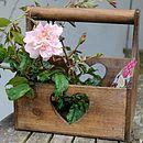 Wooden Garden Trug - pots & windowboxes