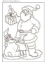 Coloriage de noel canne sucre houx et noeud no l pinterest noel - Canne coloriage ...