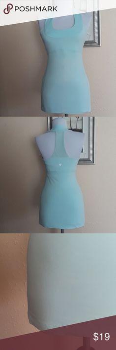 Lululemon Athletica Vintage Top Lululemon Athletica Vintage Top, color aqua blue lululemon athletica Tops