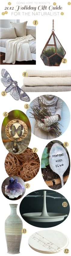 holiday gift guide: for the naturalist
