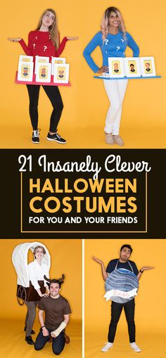 21 Insanely Clever Halloween Costumes For You And Your Friends
