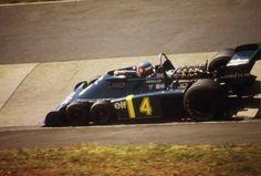 Patrick Depailler, Tyrrell P34 - Ford V8 (Germany 1976)
