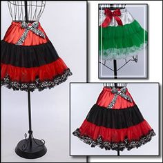 Download Free! How to Make a Pettiskirt (Child & Dolly Sizes) Sewing Pattern | Free Pattern Club Free Sewing Patterns | YouCanMakeThis.com