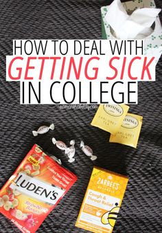 Feeling under the weather? Follow these tips for how to handle being sick as a college student. You'll be back on your feet and ready for class in no time!